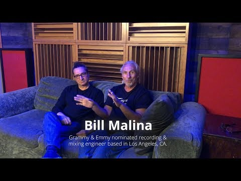 Grammy & Emmy nominated engineer Bill Malina talks about Acoustic Fields' bass absorbers