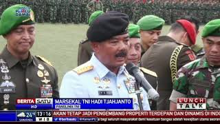 Pesan Panglima TNI untuk KSAD Andika: Jaga Soliditas