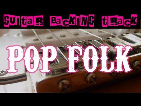 Pop Folk Backing Track Em  75 bpm  MegaBackingTracks