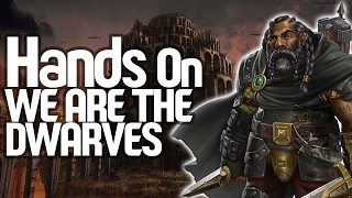 We Are The Dwarves Gameplay First Impression - Hands On We Are The Dwarves (Giveaway Included)