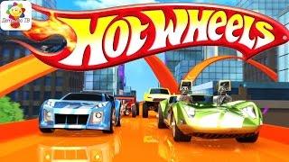 Hot Wheels / Хот Вилс.  Гоночные машинки - Обзор. Развивающий мультик для детей на русском языке