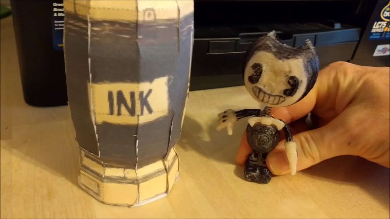 Art And Ink Machine Bendy Chibi