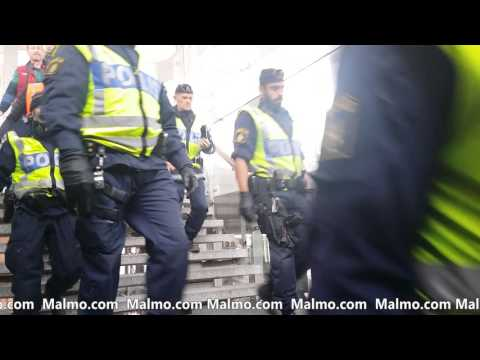 Border Control between Copenhagen and Malmö - Sweden