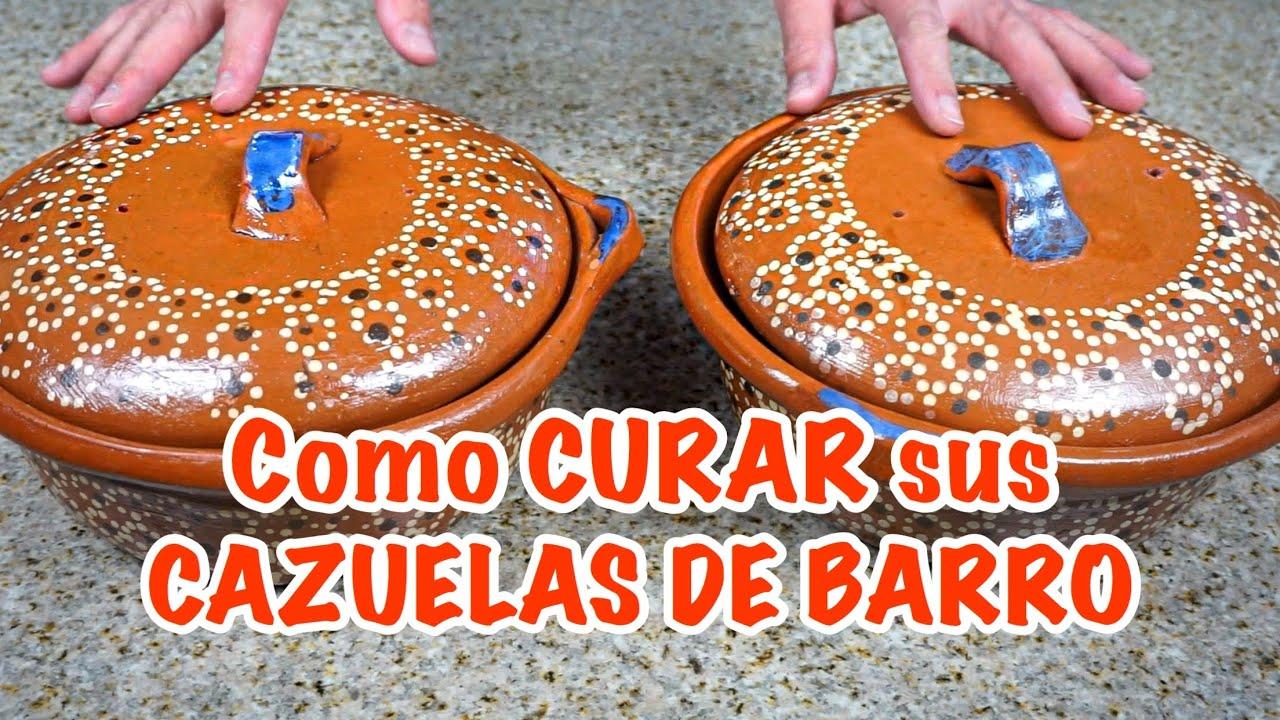 Como CURAR LAS OLLAS Y CAZUELAS DE BARRO/ Es malo usar barro? Les informo lo que investigué.