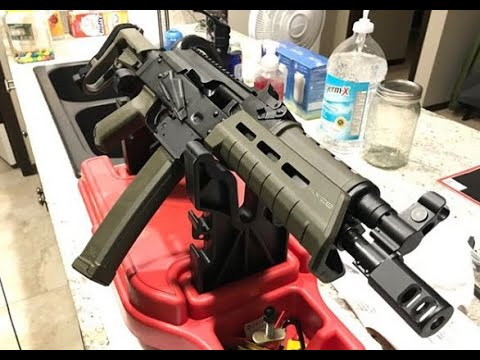 How to clean the Palmetto State Armory PSA AKV!