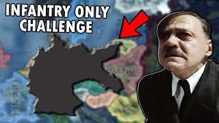 What If Germany Only Had Infantry Challenge?! HOI4