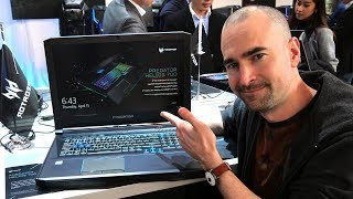 Acer Predator Helios 700, New Nitros & More! | 2019 Gaming Laptops Hands-on