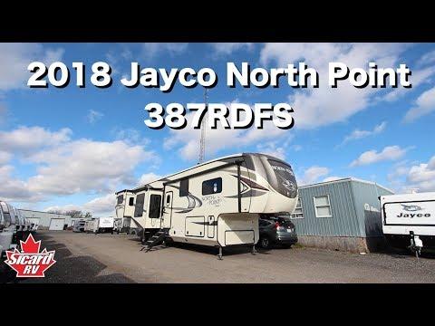 2018 Jayco North Point 387RDFS | Sicard RV