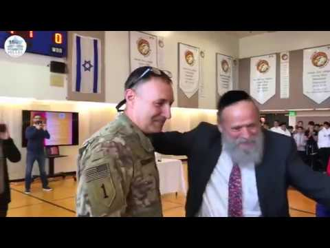 Soldier Surprises Family with Purim Return - Video by Eliram Elgrably