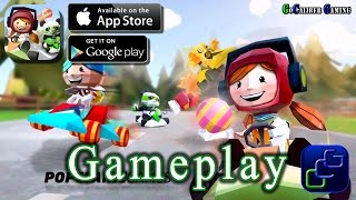Tiny Kart Racing: Family Fun iOS Gameplay