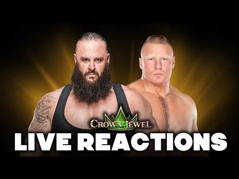 WWE Crown Jewel Live Reactions