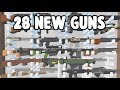 ALL 28 NEW GUNS IN UNTURNED! (with ID's)