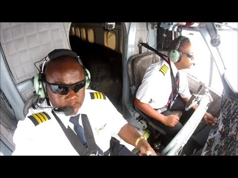 Twin otter Flight St.Maarten to Antigua