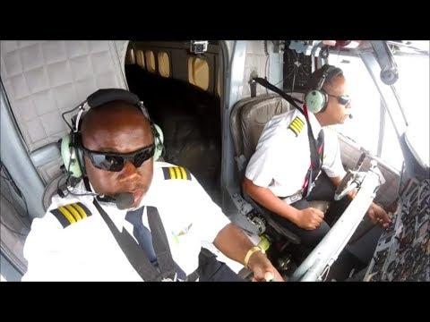 Twin otter Flight St.Maarten to Antigua