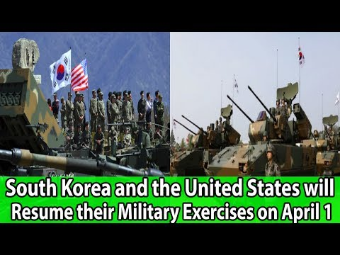 South Korea and the United States will Resume their Military Exercises on April 1 | World News Radio