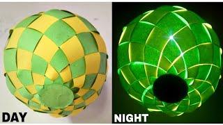 Diy paper ball lantern tutorial    Diy paper ball / Diwali decorations ideas
