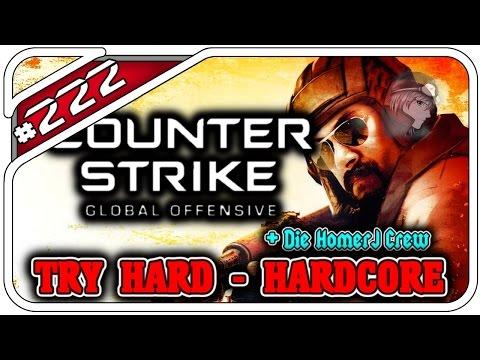 CS:GO TRY HARD HARDCORE #222 - DIE SCHÖNE MUSIK! - Mit HDHomerJ - Dhalucard