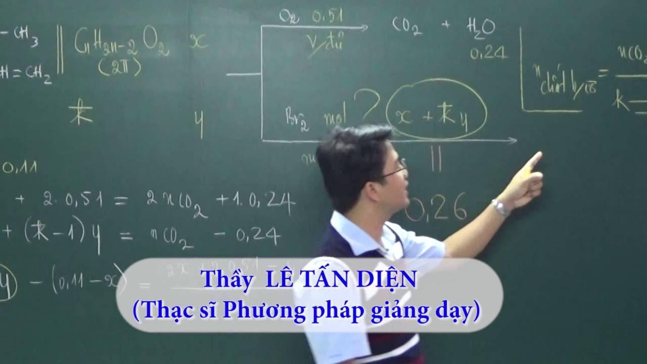 Tổng hợp hữu cơ – Khóa học 8, 9, 10 điểm (Phần 2) || Thầy Lê Tấn Diện