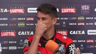 Atlético: Atacante Everaldo ex-Novorizontino é apresentado no Dragão