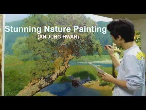 Stunning Nature Paintings by Korean Artist (An Jung-Hwan)