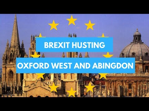 Brexit Husting Oxford West and Abingdon