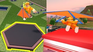 ESCAPING PRISON WITH GLIDERS IN JAILBREAK!