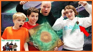 we-found-a-mysterious-book-in-the-attic-magic-spell-book-episode-1-that-youtub3-family