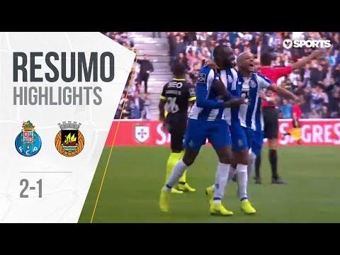 Highlights | Resumo: FC Porto 2-1 Rio Ave (Liga 18/19 #14)