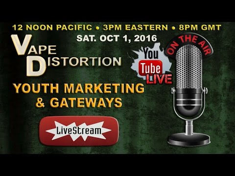 Vape Industry Youth Marketing & Smoking Gateway