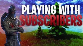 Fortnite - Squads w/subs. Come Join.