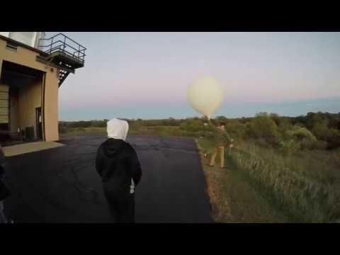 NWS Detroit/Pontiac Weather Balloon Release