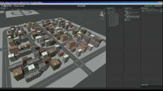 Repeat youtube video Unity Game Engine - Modular City Kit Free
