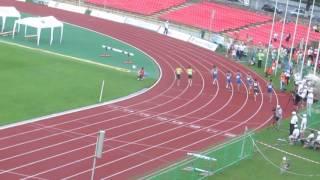 Чемпионат Украины по легкой атлетике 2016 года. 100 м. Мужчины. Финал