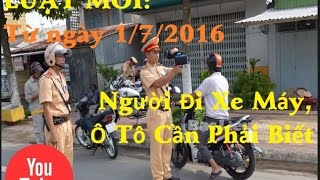 New Law: From 01/07/2016 motorcyclists, cars need to know