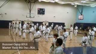 JKA Punching and kicking Techniques of Japan Karate.