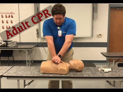 1 rescuer Adult CPR