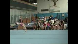 София Тертышная - Открытый чемпионат Запорожской области по спортивной гимнастике - апрель 2013