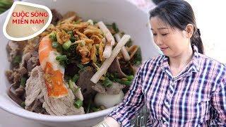 The famous Nam Vang noodle soup in Saigon