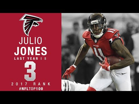 #3: Julio Jones (WR, Falcons) | Top 100 Players of 2017 | NFL