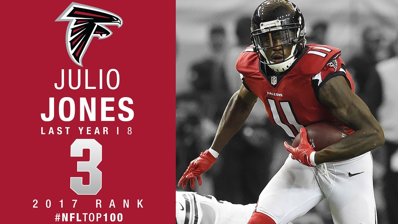 3 Julio Jones WR Falcons Top 100 Players of 2017