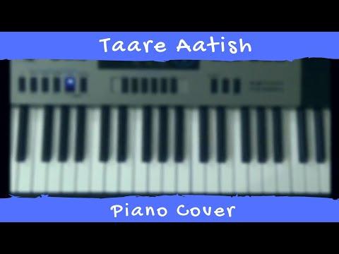 Taare    Aatish    Piano Cover    Punjabi Song 17   