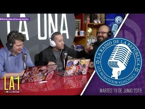 #LA1 - ¡Política, Mundial y Sorpresas! - La Radio de la República - @ChumelTorrres