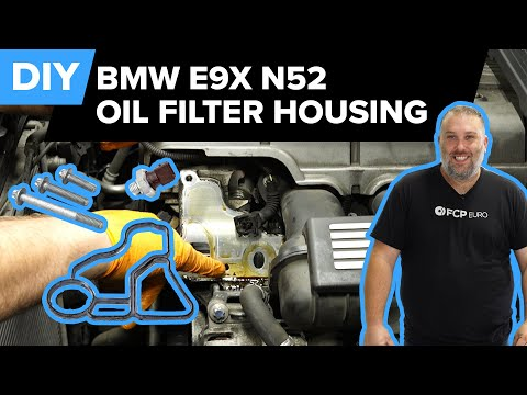 BMW E90 325xi Oil Filter Housing Gasket Replacement (N52 328i, X5, 128i, 525i & More)