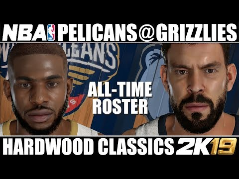 All-Time New Orleans Pelicans @ All-Time Memphis Grizzlies