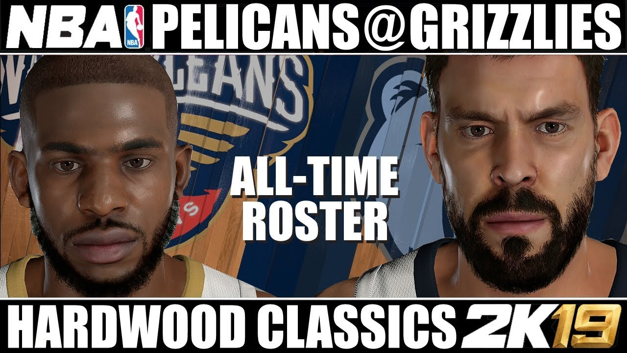 b2743ef2c All-Time New Orleans Pelicans   All-Time Memphis Grizzlies ✪ Hardwood  Classics NBA 2K19