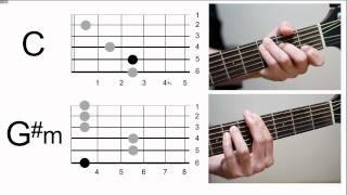 충쌤과 통기타 배우기 - 코드표 보는 방법