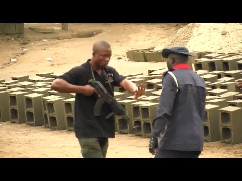The Armed Standoff Between The Nigerian Police & Civil Defense