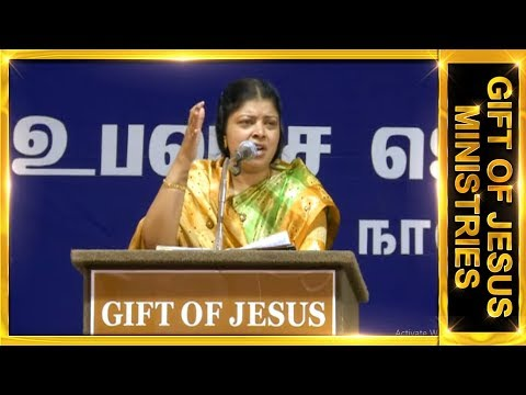 Dr.J.Preetha Judson Tamil message  Topic : Run For Jesus.