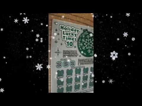 Holiday Lucky x 10 tickets from the Ohio Lottery - Winner!!