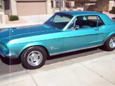 1968 Mustang- Tahoe Turquoise- Beautiful! - YouTube